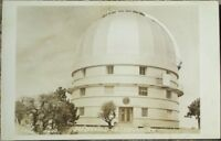 Fort Davis, TX 1940s Realphoto Postcard: McDonald Observatory - Texas Tex