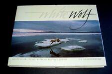White Wolf Living With An Arctic Legend By Jim Brandenburg HC DJ Gorgeous Book