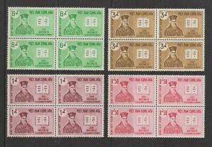 1961 South Vietnam Stamps Alexandre de Rhodes Sc # 170 - 173 MNH