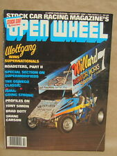 Vintage Open Wheel Magazine Newspaper February 1982 Stock Car Racing Wolfgang