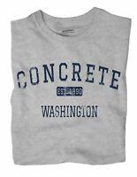 Concrete Washington WA T-Shirt EST