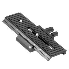 Carril de Enfoque Macro BGNing 2 vías Control Deslizante Para Cámara DSLR Canon/Pentax Universal