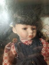 Porcelain Doll Of The Month July Rare.