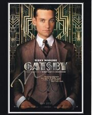 TOBEY MAGUIRE signed autographed THE GREAT GATSBY NICK CARRAWAY photo