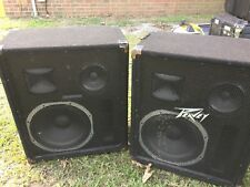 Vintage Pair Of Peavey 388-S Speakers...Very Rare..Untested