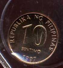 PHILIPPINES 10 sentimo  1997  ( FDC )