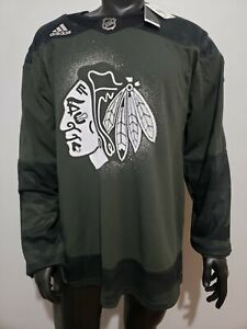 Adidas Chicago Blackhawks Salute to Service Authentic Practice Jersey Various SZ