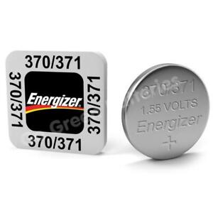 Energizer Watch Batteries 321 357 362 371 377 379 389 392 394 399 Silver Oxide