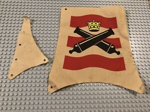 LEGO Cloth FLAGS Imperial Flagship 6271 Used