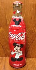 Cola-Cola Celebrate Mickey 75 InspEARations Limited Edition 8 oz Coke Bottle