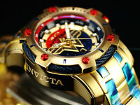 New Invicta DC Comics Wonder Woman Scuba Bolt Hybrid Ltd.Ed. Red/Blue/Gold Watch