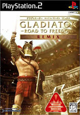 Used PS2 Gladiator: Road to Freedom Special Remix   Japan Import (Free Shipping)