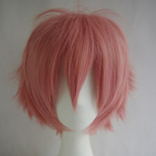 Multi Color Short Hair Wig Fashion Party Cosplay Full Sell Synthetic Wigs + Cap