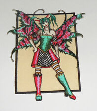 Amy Brown Fracas Fairy Embroidered iron-on Patch