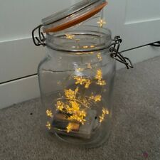Mason Jar With Fairy Lights Included