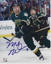 MIKE MODANO Signed Dallas STARS 8x10 PHOTO w/ Beckett COA