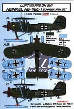 KORA Models LUFTWAFFE ON SKIS HEINKEL He-46C-1 Resin Set with Decals