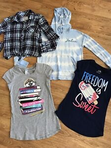 Justice Girl's Awesome Lot! Size 10-12