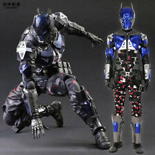 HZYM Batman Arkham Knight Deluxe Leather Outfit Cosplay Costume Customize