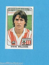 INGHILTERRA-FOOTBALL 79-PANINI-Figurina n.324- WILLIAMS -SOUTHAMPTON-Rec