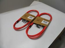2 x NEW Premier Red Coloured Bike Gear Cable    PCG2002