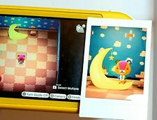 Stitches Amiibo Card Polaroid works on Animal Crossing New Horizons & New Leaf