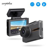 "Arpha W02 3"" OLED Touch Screen Car Dash Cam WiFi GPS DVR Camera Night Vision"