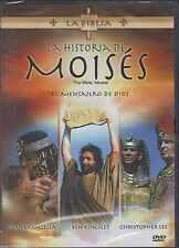 DVD - La Historia De Moises ( The Bible : Moses ) NEW FAST SHIPPING !