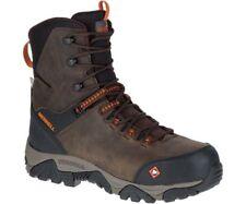 Merrell Men's J45315 Phaserboud Composite Toe Waterproof Safety Side Zip  Boots