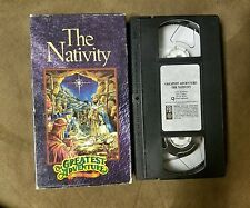 The Nativity The Greatest Adventure Stories of the Bible VHS Video Tape