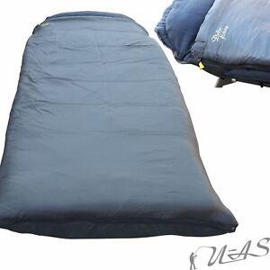 Delta Fishing Qualitäts Fleece Schlafsack Sleeping Bag Hohlfaser Iso Füllung Kva