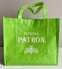 NEW! Set Of 5 Patrón Tequila Green Reusable Bags! Bright Bags, Party Favors