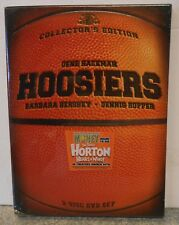 Hoosiers (DVD 2005 2-Disc Collectors Edition) RARE W BASKETBALL SLIPCOVER NEW