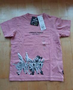 Uniqlo Legendary Pokemon Pink Childrens Tshirt size 7-8 years