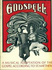 "1971 Stephen Schwartz ""Godspell"" Souvenir Program - Off Broadway"