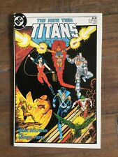 New Teen Titans (1984) # 1 VF- 2nd Ongoing Teen Titan Title