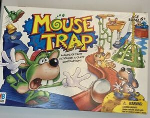 Hasbro Gaming Mouse Trap Board Game 2005 Incomplete