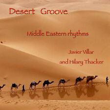 Desert Groove CD by Javier Villar and Hilary Thacker