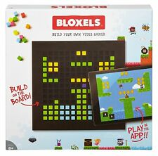 """Mattel Bloxels Build Your Own Video Game 13""""x13"""" Gameboard 320 Blocks 8 Colors"""