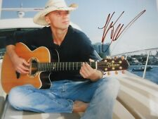 "KENNY CHESNEY  SIGNED PHOTO  ""PLAYING GUITAR"""