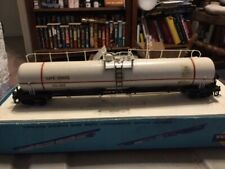 HO scale 85' Hydrocyanic Tank car. New recently completed.