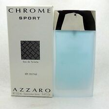 CHROME SPORT BY AZZARO EAU DE TOILETTE SPRAY 100 ML/3.4 FL.OZ. (T)