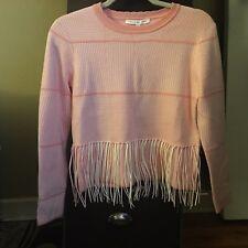 Ashro Black White Houndstooth Anjali Cold Shoulder Sweater Blouse Size L 2X PLUS