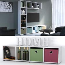 VICCO Raumteiler LUDUS 4 Fächer - Standregal Sideboard Raumteiler Büroregal