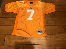 1990's 2000's Tennessee Volunteers #7 COLLEGE FOOTBALL GAME USED JERSEY LOA