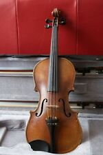 intermediate old 3/4 violin hand made in Mittenwald with case and two bows
