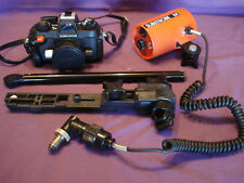 Nikon Nikonos IV-A Underwater 35mm Camera f/2.5 Nikkor Lens & Ikelite Strobe M