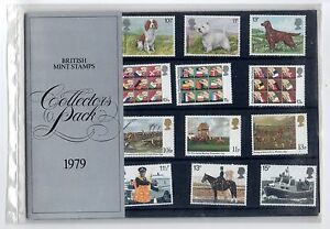 GB 1979 Royal Mail stamps Collectors pack. Year. VGC. Free postage!!