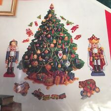 Jumbo Christmas Tree Wall Removable Sticker Decal Vinyl Holiday 18 Appliques
