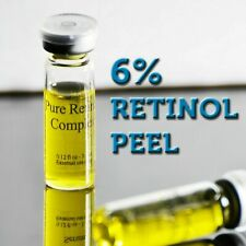 6% Pure retinol night serum cream gel a vitamin skin peel face 1.0 2.5 3 ml